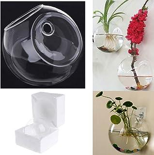 Amazon.es: jarrones de cristal