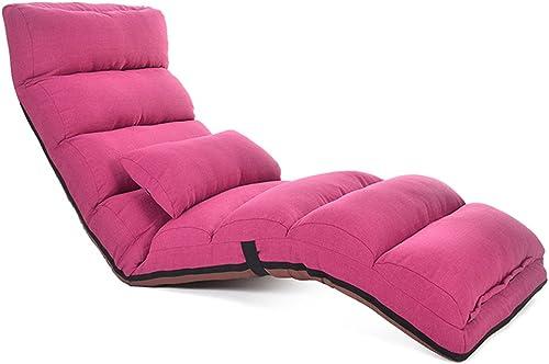 MDBLYJ Faule Sofa Faltbare Abnehmbare Stuhl Stuhl Fenster Stuhl Bay Fenstersessel, (Farbe   A)