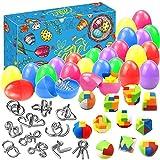 Amelia 12 piezas desbloquear juguetes huevos de Pascua para fiesta de Pascua,...