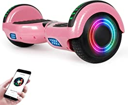 """EPCTEK Hoverboard for Kids with Bluetooth Speaker, 6.5"""" Two Wheel Electric Hover Board"""