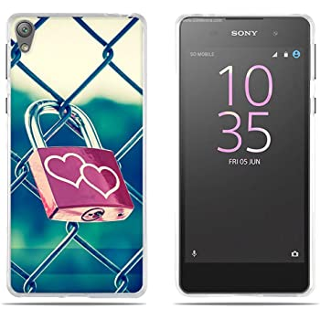 FUBAODA Funda Sony Xperia E5 3D Realzar, Impresión Romántica de ...