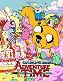 Adventure Time Coloring Book: 50 Coloring Pages of your favourite characters from The Land of OOO...