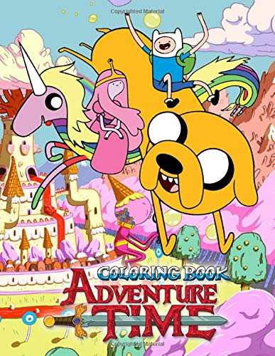 Adventure Time Coloring Book: 50 Coloring Pages of your favourite characters from The Land of OOO