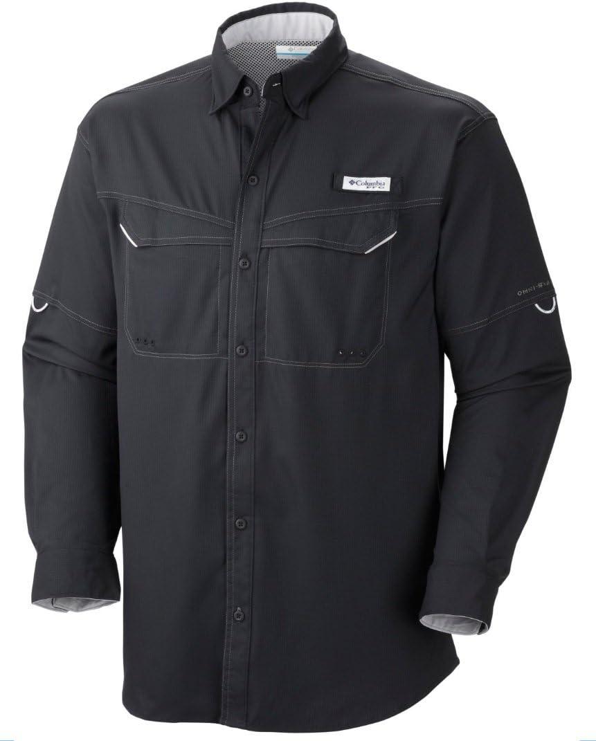 セール 年間定番 Columbia Men's Low Drag Offshore Long-Sleeve Shirt
