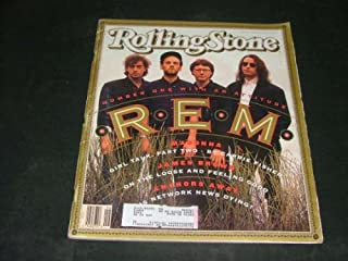 Rolling Stone #607 June 27 1991 R.E.M. Madonna, James Brown
