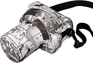 Canon カメラケース キャノン カメラバッグ 一眼レフ用 ショルダー ベルト付き 防塵ケース 19CM 地図 ZY