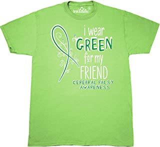I Wear Green for My Friend- Cerebral Palsy Awareness T-Shirt