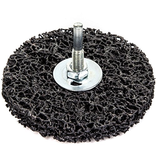 4x Rust/Paint 100mm Remover Disc Wheels - Grinder/Drill Abrasive Stripping Bits