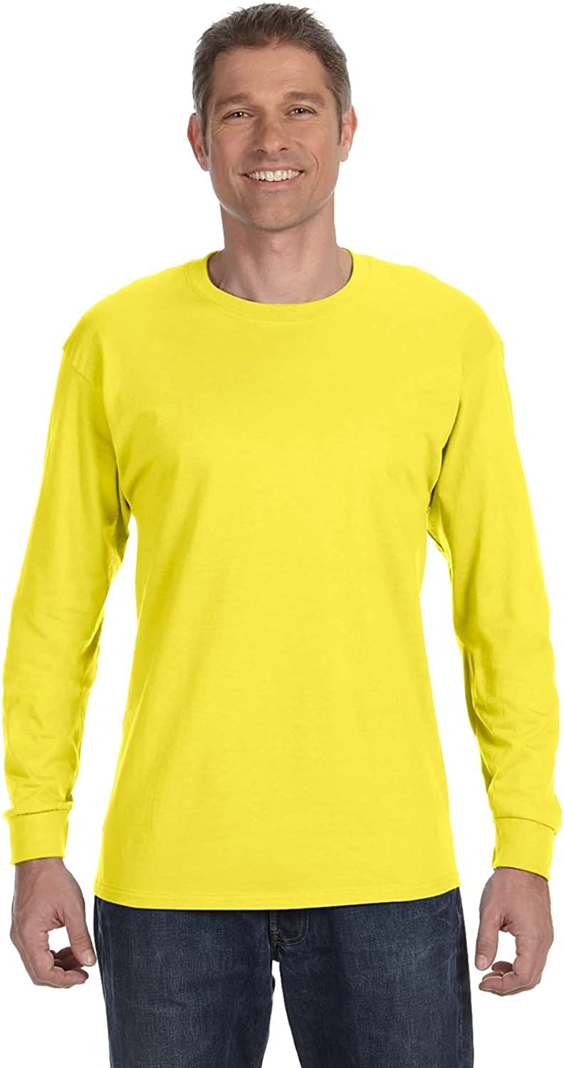 Max 86% OFF Hanes 5586 Men's lowest price Tagless Tee Long 2-Pack Sleeve