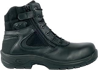 Cofra 10260-000 - La policía s3 bota de seguridad con cremallera lateral, negro,