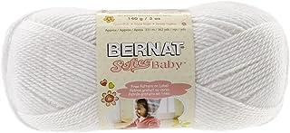Bernat Softee Baby Yarn, 5 oz, White, 1 Ball