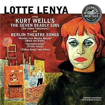 Lotte Lenya Sings Kurt Weill [Masterworks Heritage]