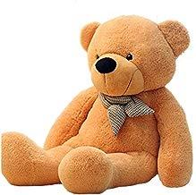 Vercart luz marrón gigante enorme de peluche 160cm Animales de peluche oso de peluche muñeca de juguete