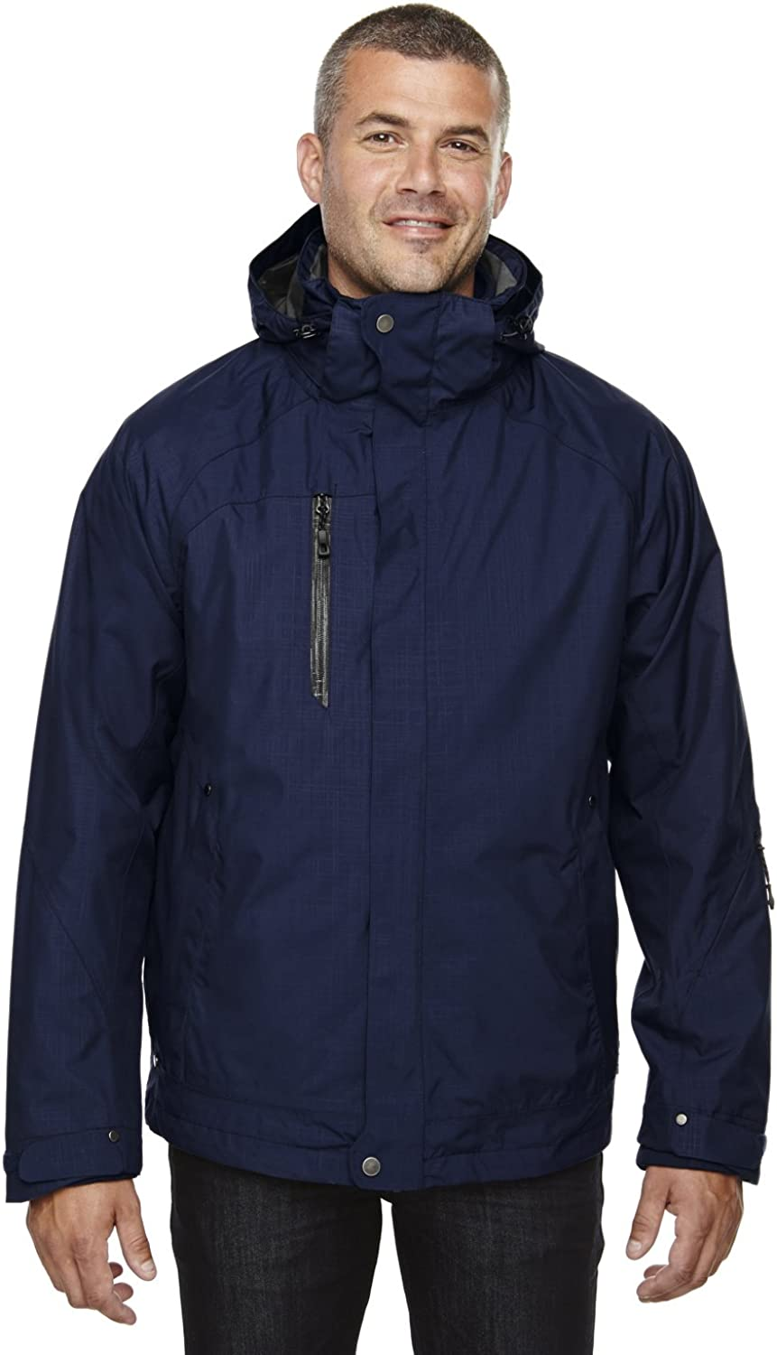North End Mens 3-in-1 Jacket with Soft Shell Liner (88178)