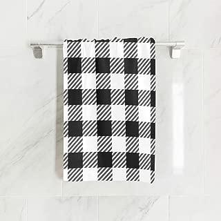 Best buffalo check bathroom towels Reviews