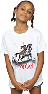 Disney Girls Mulan Movie Stride T-Shirt