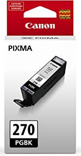 Canon PGI-270 Pigment Black Ink Tank Compatible to MG6820, MG6821, MG6822, MG5720, MG5721, MG5722, MG7720, TS5020, TS6020,...