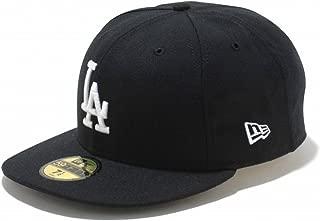 (ニューエラ) NEW ERA 59FIFTY キャップ MLB ロサンゼルス ドジャース ブラック/ホワイト