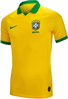 Nike Men's Brazil Home Soccer Jersey 2019-20 (Yellow)