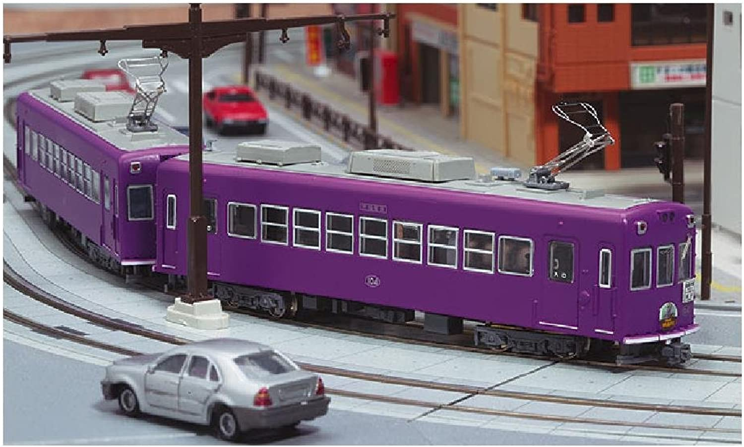 101 car 101 form Kyoshi paint N gauge NT142 Keifuku Railway Mobo (hematopoietic Tcar) (japan import)