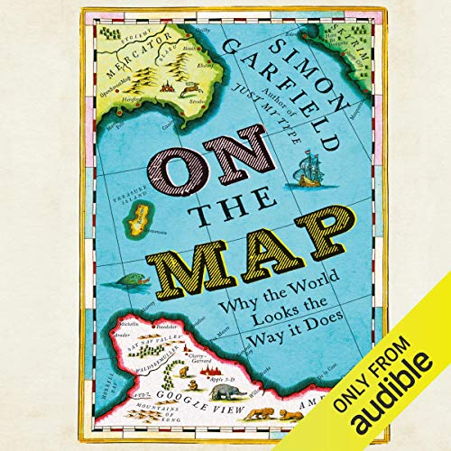 On the Map audiobook cover art