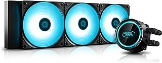 DEEP COOL Gammaxx L360 V2 AIO Watercooling RGB, Refroidissement Liquide, Refroidisseur Processeur, 3x120mm PWM Ventilateur...