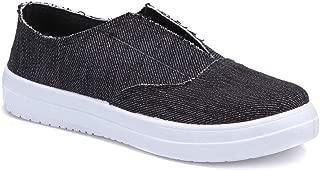 U2503 Siyah Kadın Slip On Ayakkabı