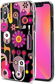 LG G8X ThinQ ケース カバー ハード TPU 素材 おしゃれ かわいい 耐衝撃 花柄 人気 全機種対応 抽象画派10 ファッション 11889803