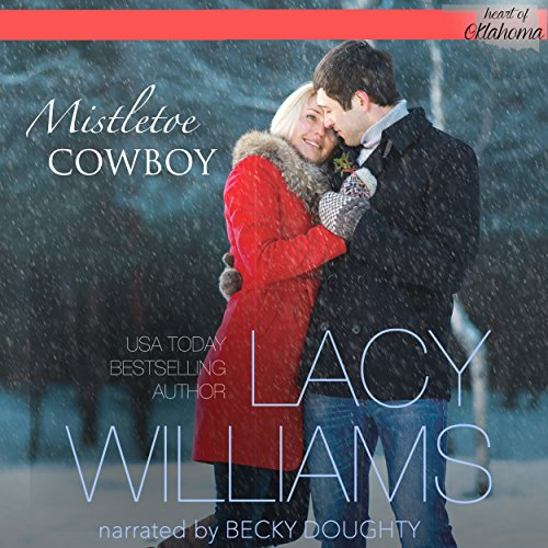 Mistletoe Cowboy audiobook cover art