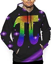 3D Printed Men's Rotating Whirlpool Graphic Hoodies Cool Pullover Athletic Hooded Sweatshirts
