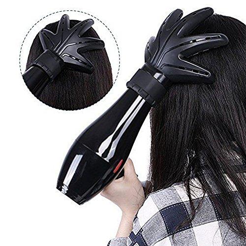 Difusor universal, AimdonR pelo/soplado/secador de pelo, difusor de manos, difusor universal en forma de mano
