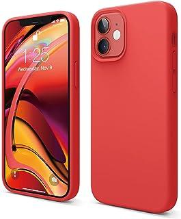"""elago Liquid Silicone Case Designed for iPhone 12 Mini (5.4""""), Premium Silicone, Full Body Protection : 3 Layer Shockproof..."""