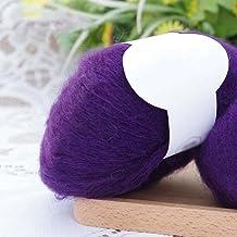 Zachte Mohair Cashmere Wol Breien Garen Kleurrijke Wolvezel DIY Naaien Gereedschap Mohair Pashm Draad voor Weave Sjaals Sj...