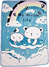 Mahi Fashion Blanket for Baby and Kids (0-5 Years,Reversible) (color9)