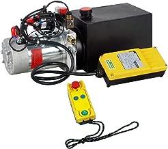 ECO-WORTHY Hydraulic Pump 6 Quart Double Acting Hydraulic Power 12V DC Hydraulic Pump Power Unit w/Wireless Remote Control