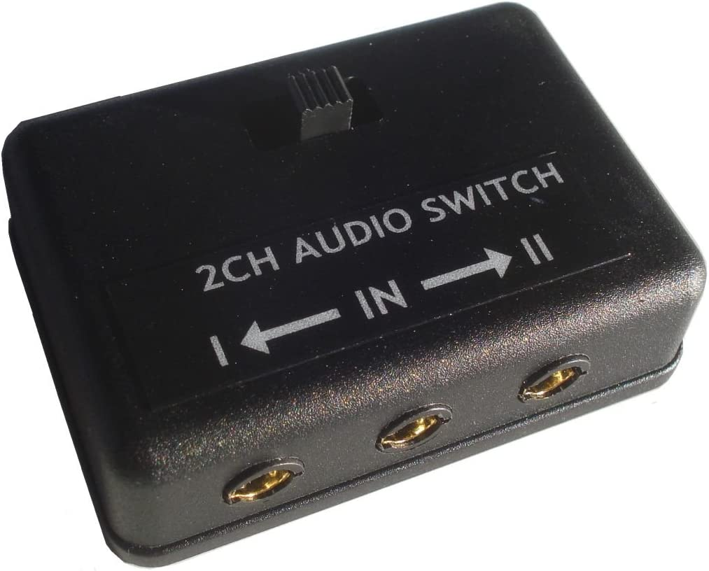 3.5mm Audio Manufacturer regenerated product Switch Max 53% OFF AB A B 8