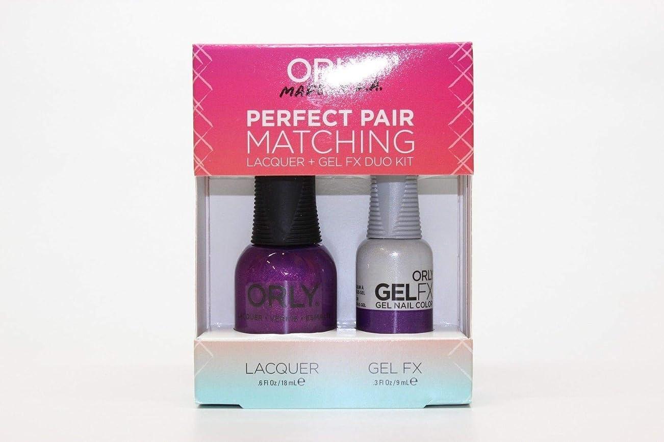 シャンパンスリップドールOrly - Perfect Pair Matching Lacquer+Gel FX Kit - Celebrity Spotting - 0.6 oz / 0.3 oz