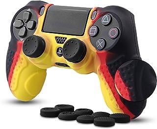 CHIN FAI PS4 Controlador Piel Cubierta de la Caja con 8