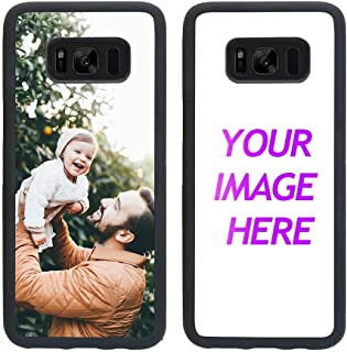 Customized Case for Samsung Galaxy S8 Personalized Custom Picture Phone Case Customizable Slim Soft and Hard Tire Shockproof Protective Phone Cover Case Make Your Own Phone Case