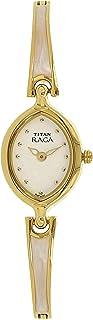 2370YM11 -Titan Raga Women's, 30m Water Resistant, Stainless Steel, Golden