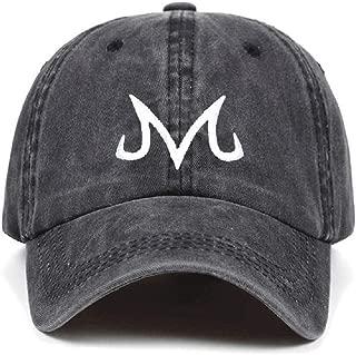 Ryulife 100% Cotton Majin Buu Snapback Cap Baseball Cap for Men Women Hip Hop Dad Hat Golf caps Bone Garros Adjustable