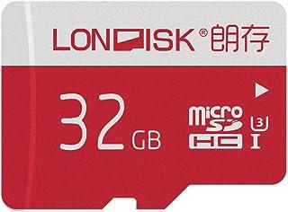LONDISK 4K Micro SD Card 32GB U3 Class10 Memory Card Micro SDHC Card with Micro SD Adpater(U3 32GB)
