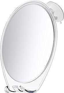HoneyBull Shower Mirror Fogless for Shaving - with Suction, Razor Holder for Shower & Swivel, Mirrors, Shower Accessories,...