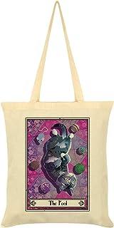 Deadly Tarot Felis - The Fool Tote Bag Cream 38 x 42cm