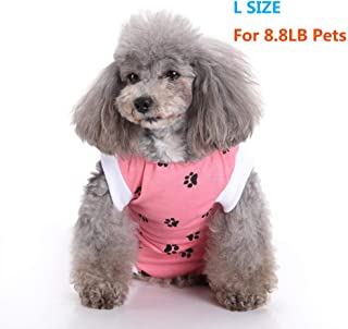 NEPPT Dog Recovery Suit Cat Surgical Surgery Shirt for Cats and Dogs After Surgery Wear Clothes Pet Recovery Suit Post Surgical Dog Onesie
