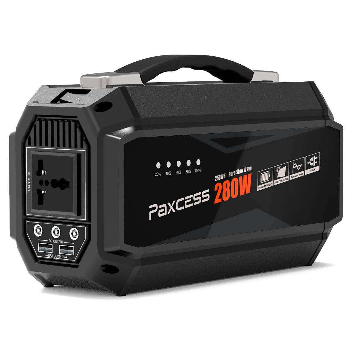 PAXCESS Portable 67500mAh Generator Emergency