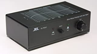 TCC TC-753LC Black Phono Preamp w/AUX Input, Premium High Output Adaptor and TC-ADUSB Digital Recording Adaptor Combo