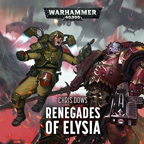 Renegades of Elysia audiobook cover art