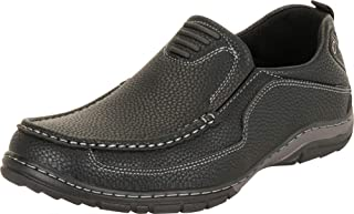 Cambridge Select Men's Slip-On Driving Moccasin Loafer