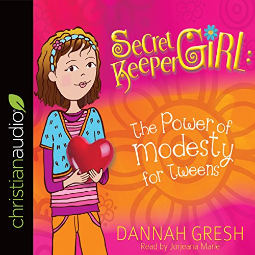 Secret Keeper Girl: The Power of Modesty for Tweens                   By:                                                                                                                                 Dannah Gresh                               Narrated by:                                                                                                                                 Jorjeana Marie                      Length: 1 hr and 54 mins     3 ratings     Overall 5.0